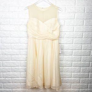 JCREW Clara Silk Chiffon Dress